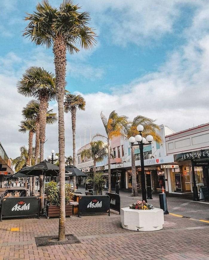 Đường phố ở Napier - Du lịch Napier