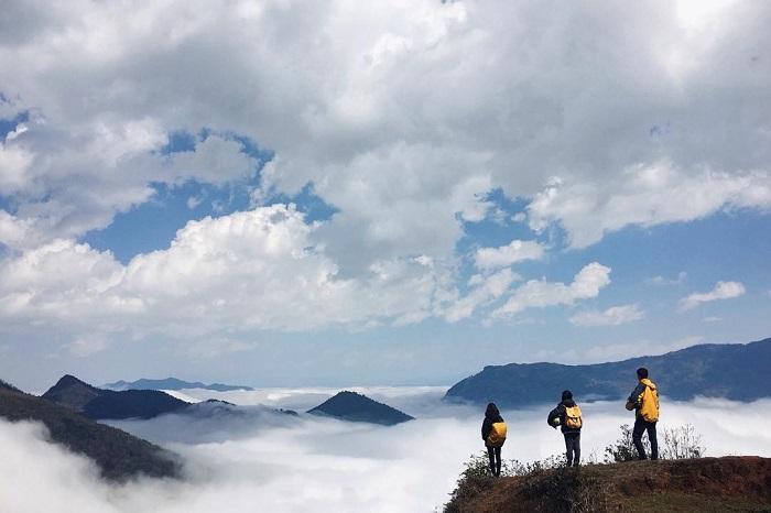 Săn mây ở Hồng Ngài