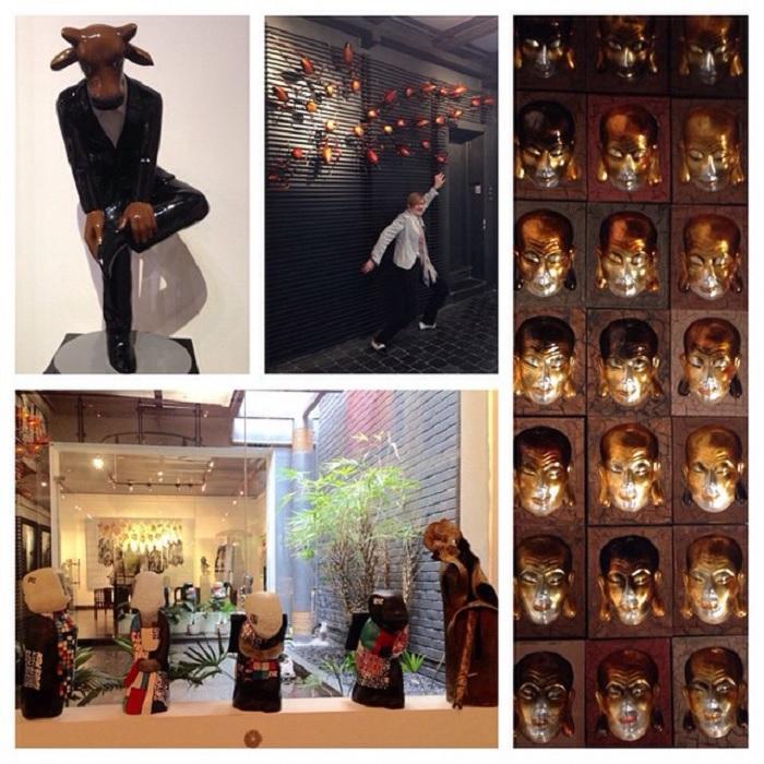 Green Palm Gallery - không gian nghệ thuật ở Hà Nội đẹp không góc chết