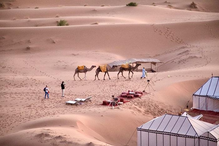 Trải nghiệm cắm trại Ả Rập ở Qatar - Trải nghiệm cắm trại Ả Rập