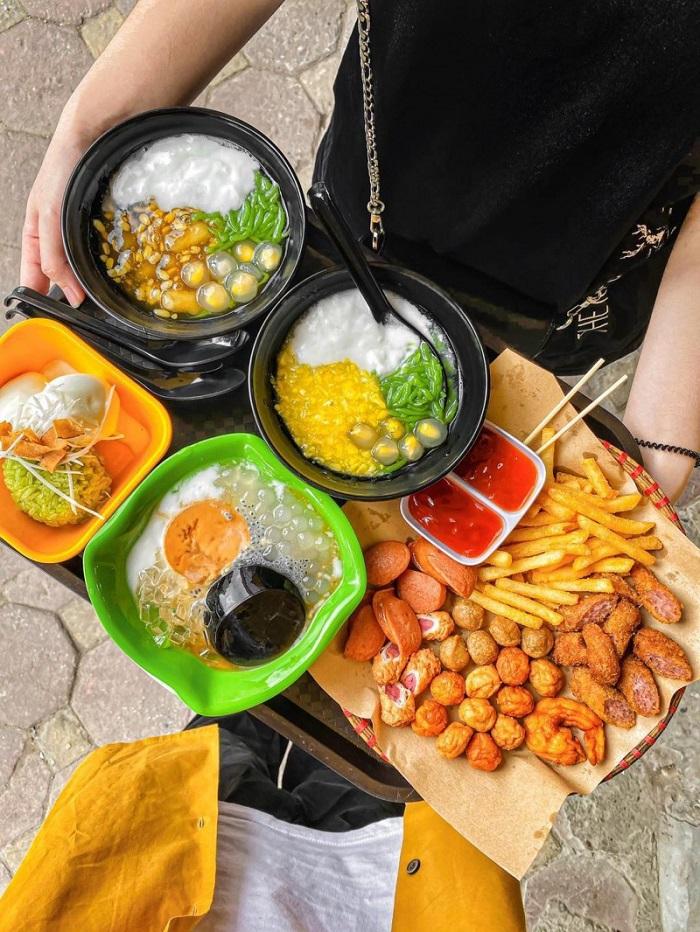Những quán ăn vặt đường 30/4 Phú Quốc - Tiệm chè Bà Chang