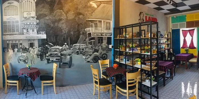 Beautiful cafes in Ca Mau - Land Coffee