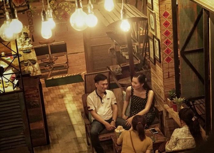 Beautiful coffee shops in Ca Mau - Art Coffee Tropical