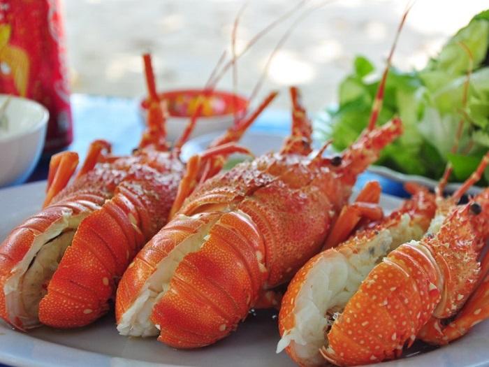Delicious seafood restaurants in Tay Ninh - Sea Wind Seafood menu