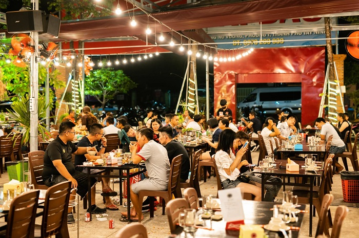 Delicious seafood restaurants in Tay Ninh - Hai Dao Seafood Restaurant