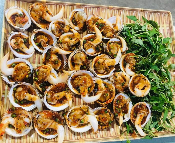 Delicious seafood restaurants in Tay Ninh - Dung Tham Seafood menu
