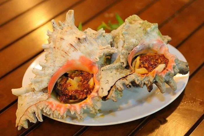 Những quán ốc ngon ở Phú Quốc- Quán Cát Biển thực đơn