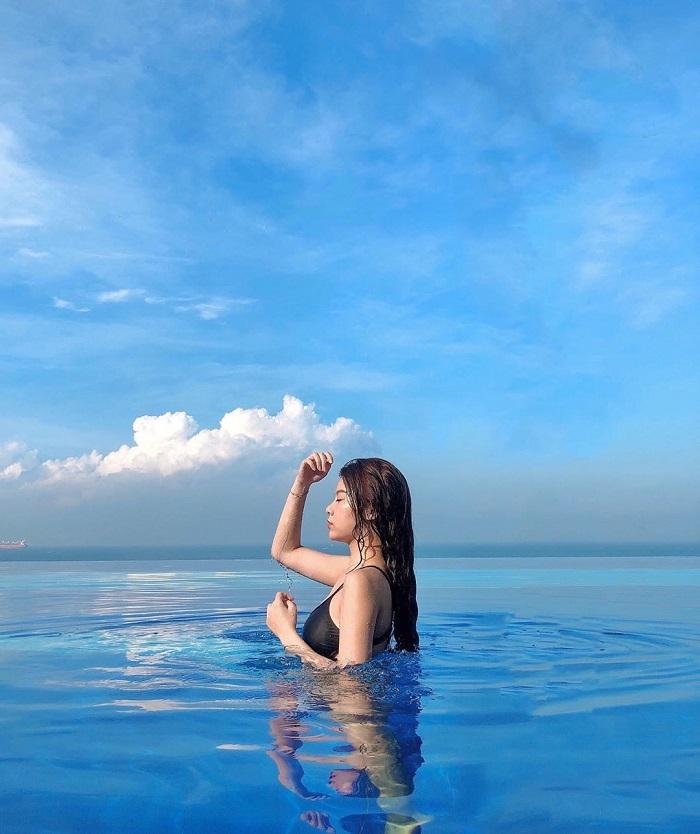 Resort ở Bãi Sau Vũng Tàu - Léman Cap Resort and Spahồ bơi