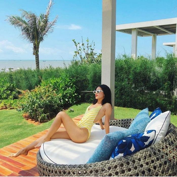 resort ở Bãi Sau Vũng Tàu - Oceanami Villas & Beach Clubhồ bơi