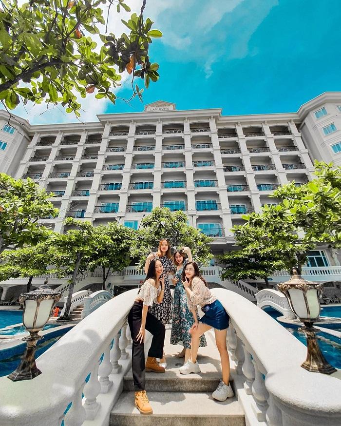 resort ở Bãi Sau Vũng Tàu - Lan Rừng Phước Hải Resort  tiện ích