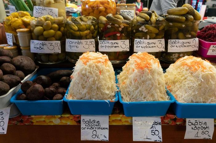 Dưa chua Latvia - Kinh nghiệm du lịch Latvia