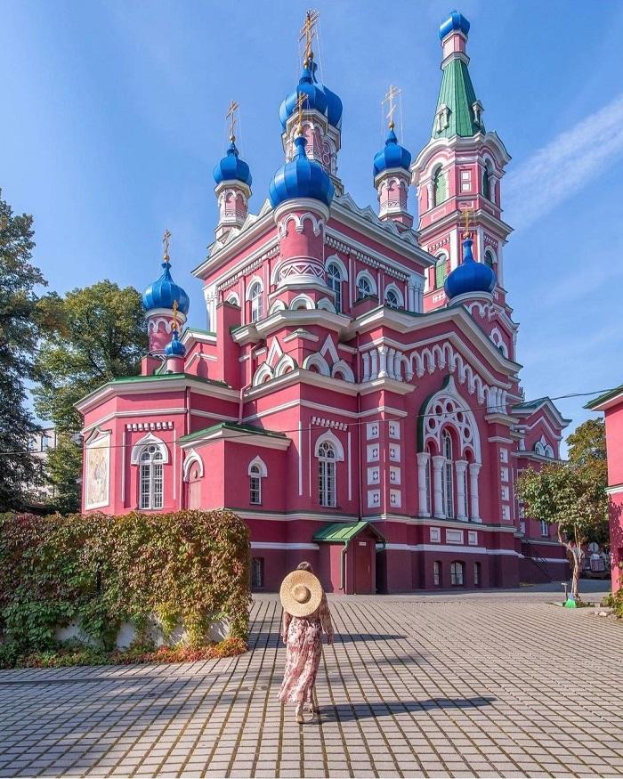 Nhà thờ phong cách Nga ở Latvia - Kinh nghiệm du lịch Latvia