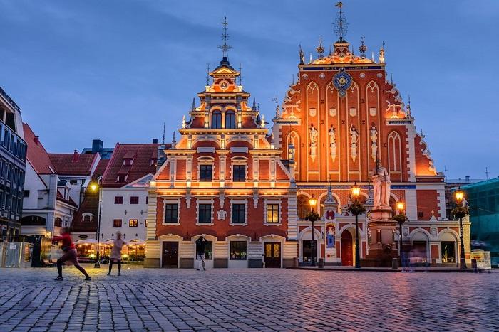 Tòa nhà cổ ở Riga - Kinh nghiệm du lịch Latvia