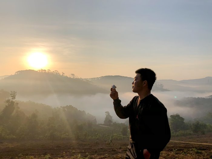 time when Hunting Clouds in Mang Den