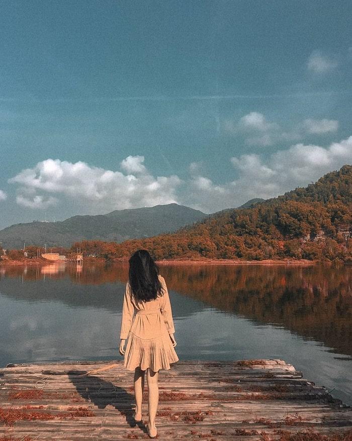 Vẻ đẹp ở Hồ Xanh Đà Nẵng