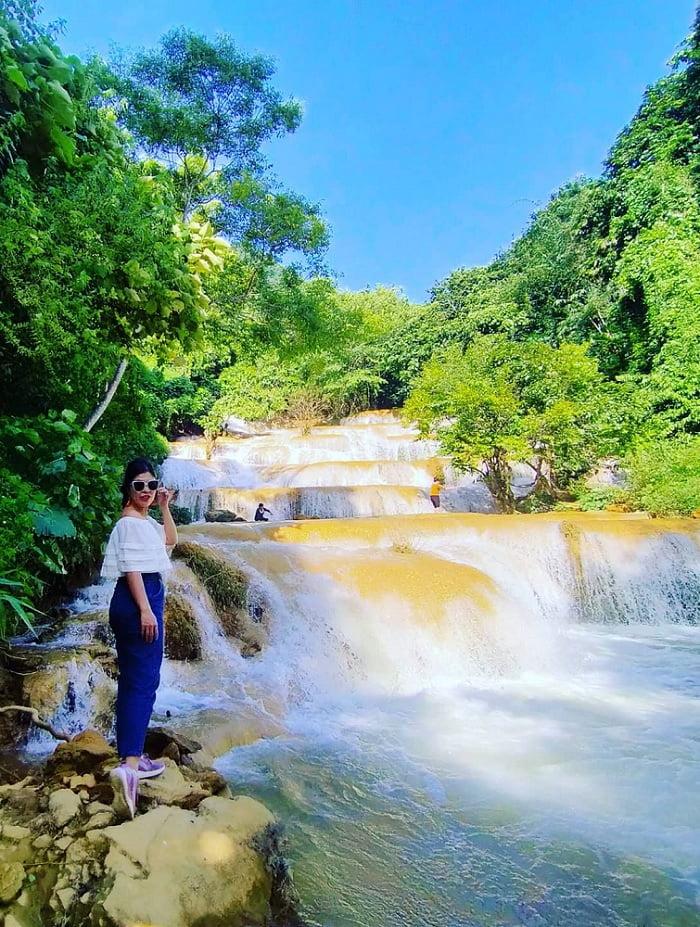thác Mây - ngọn thác đẹp ở Thanh Hóa