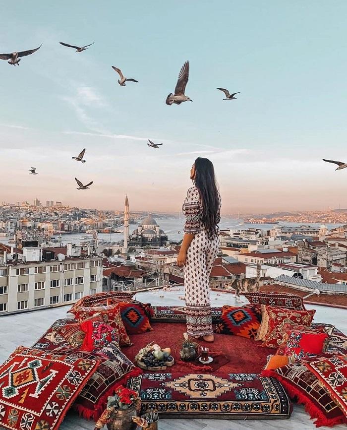 Thành phố Istanbul - Kinh nghiệm du lịch Trung Đông