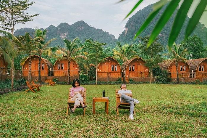 Khung cảnh ở Chày LậpFarmstay Quảng Bình