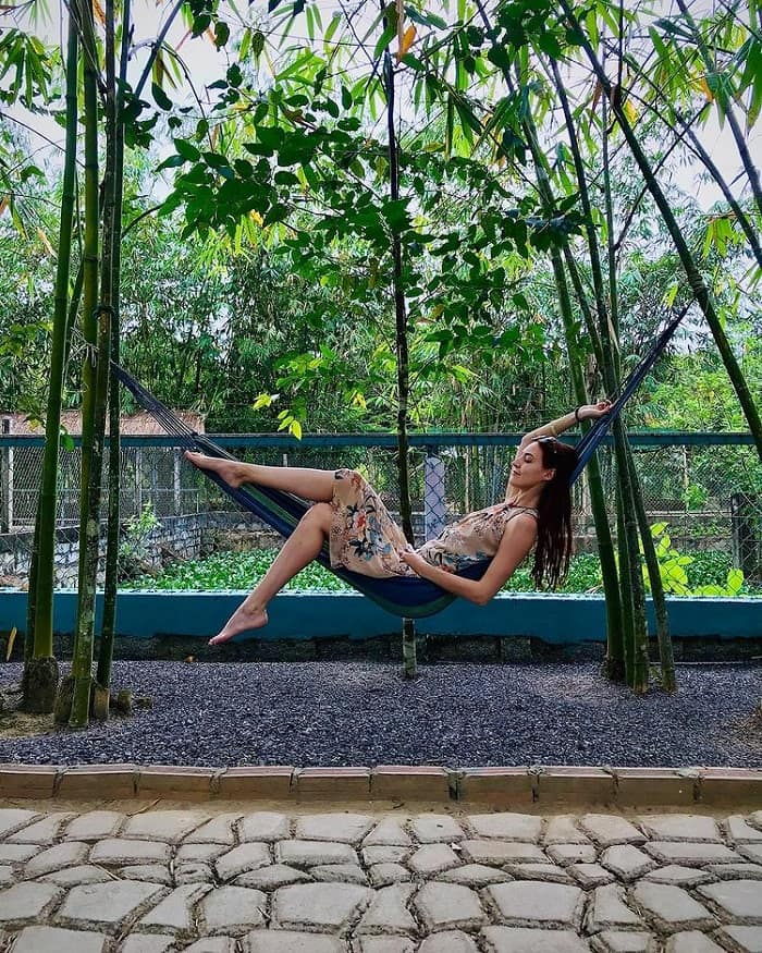 Relax in Nhan Tam eco-area