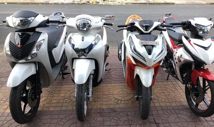 thuê xe máy du lịch Cà Mau- Anh Cường