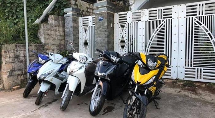 thuê xe máy du lịch Cà Mau- Anh Khôi