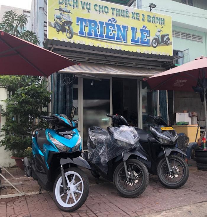 thuê xe máy du lịch Cà Mau- Triển Lê