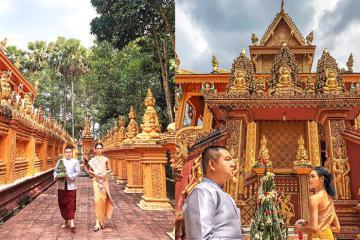Ghé thăm chùa Phù Ly - ngôi cổ tự đậm chất Khmer trên đất Vĩnh Long