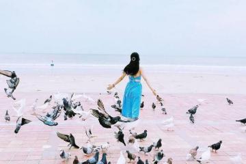 Tìm về bình yên tại công viên biển Đông Đà Nẵng