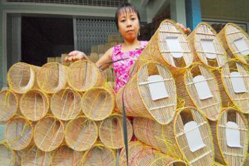 Ghé thăm làng đan lọp Thới Long Cần Thơ tìm hiểu nét văn hóa đặc trưng miền Tây sông nước