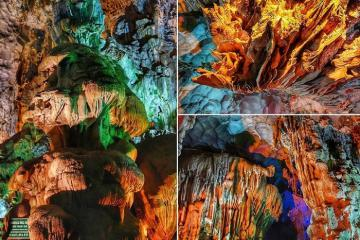 Hang Đầu Gỗ - tuyệt tác hang động trên vịnh Hạ Long