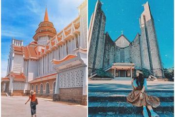 Khám phá những nhà thờ ở Huế có kiến trúc đẹp sống ảo lung linh