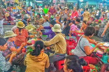 No căng bụng với những quán ăn vặt đường 30/4 Phú Quốc giá siêu rẻ