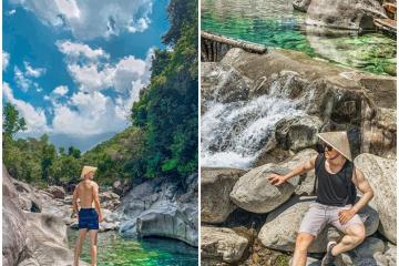 Du lịch suối Tiên Huế - danh thắng hoang sơ dưới chân núi Hải Vân