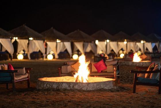 Trải nghiệm cắm trại Ả Rập dưới bầu trời đầy sao của Qatar