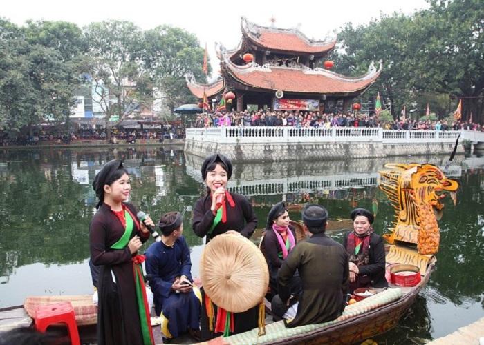 Toàn cảnh lễ hội sôi động náo nhiệt tại Hội Lim Bắc Ninh
