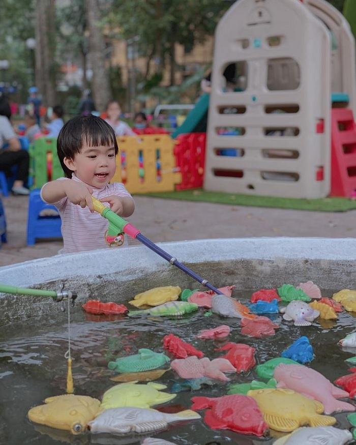 khu vui chơi - điểm yêu thích của trẻ em trong Vườn bách thảo Hà Nội