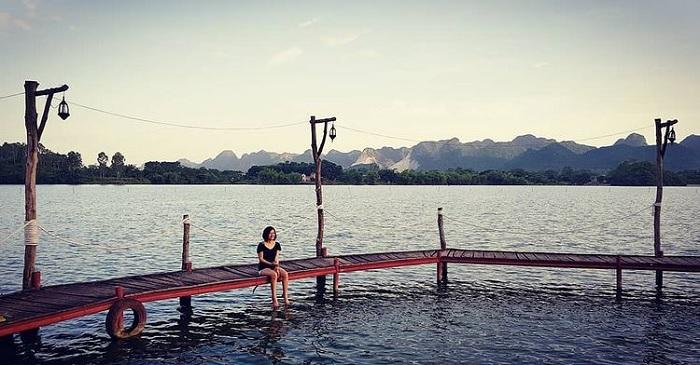 Hồ Yên Thắng – nàng tiên nữ trong veo giữa núi non Ninh Bình