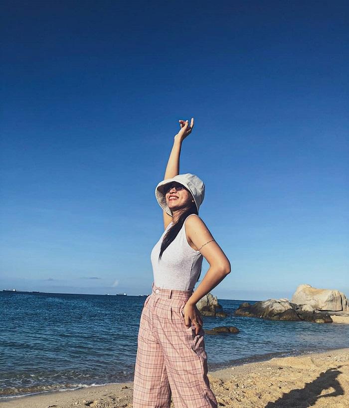 Ninh Chu Beach - one of the beautiful beaches in Ninh Thuan