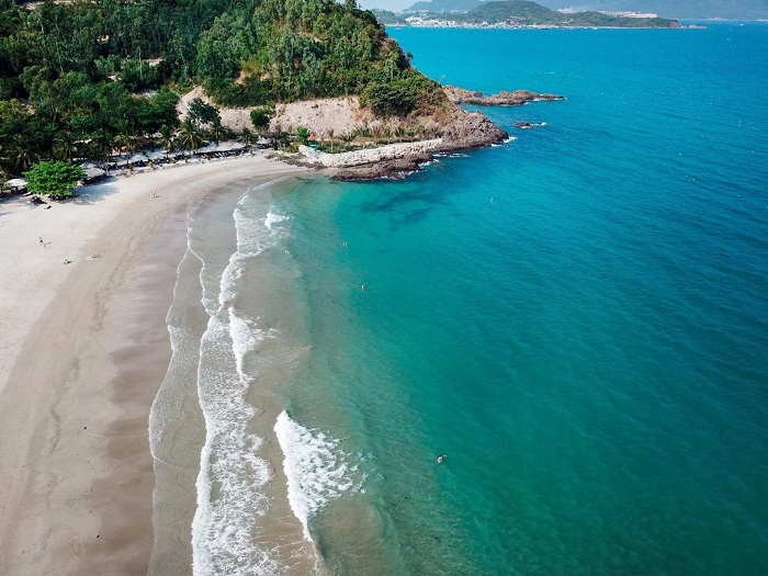 Location of Nha Trang Nhu Tien beach