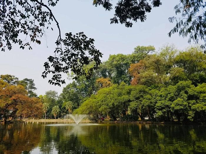 mùa thu - thời điểm đẹp để đến Vườn bách thảo Hà Nội