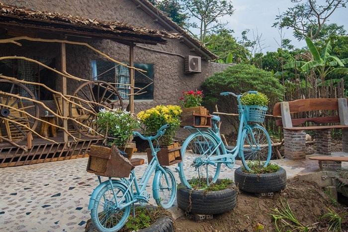 vườn trái cây Vàm Xáng Cần Thơ - cảnh trong khu du lịch