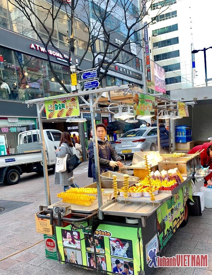Ẩm thực đường phố Seoul có gì hấp dẫn
