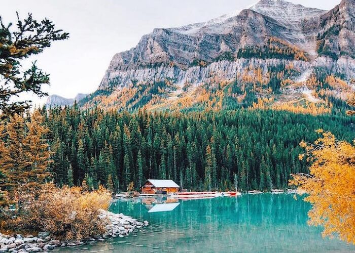 Destinations for Canada must check in once in a lifetime