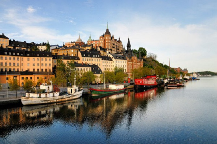 Locate must-see tourist attractions in Sweden!