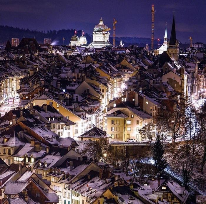 Capital Bern Switzerland