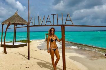 Ngất ngây với vẻ đẹp của đảo Alimatha Maldives