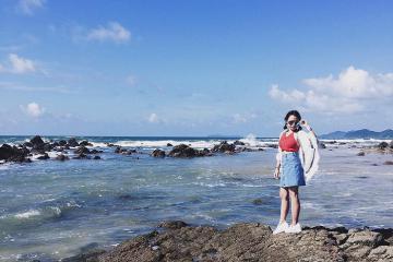 Bãi biển Robinson Quảng Ninh – thiên đường nghỉ dưỡng siêu hot của giới trẻ