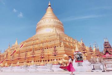 Chùa vàng Shwezigon Myanmar có gì mà thu hút du khách tham quan đến vậy?