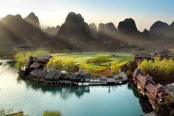 Thu này 'đẩy thuyền' đi du lịch Quế Lâm Trung Quốc