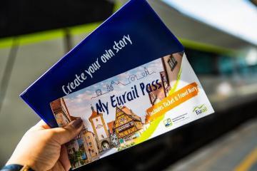 Thẻ tàu Eurail Global và trải nghiệm đi tàu tại Pháp - Ý - Thụy Sĩ